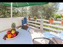 Apartments Simi A1(4+1) Cove Osibova (Milna) - Island Brac  - Croatia - Apartment - A1(4+1): terrace
