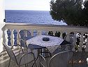 Apartments - 02103HVAR - Hvar - Island Hvar  - Croatia - Studio apartment - Frezija(4): terrace