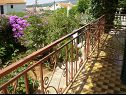Apartments A1(8), A2(8) Sucuraj - Island Hvar  - Apartment - A2(8): balcony