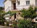 Apartments A1(6) Njivice - Island Krk  - courtyard (house and surroundings)