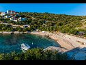 Apartments Mark A1(6+2), A2(6+2) Cove Kanica (Rogoznica) - Riviera Sibenik  - Croatia - beach