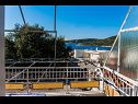 Apartments Mark A1(6+2), A2(6+2) Cove Kanica (Rogoznica) - Riviera Sibenik  - Croatia - Apartment - A1(6+2): terrace view