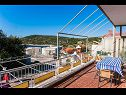 Apartments Mark A1(6+2), A2(6+2) Cove Kanica (Rogoznica) - Riviera Sibenik  - Croatia - Apartment - A1(6+2): terrace