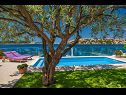 Holiday home IM H(8+2) Zatoglav - Riviera Sibenik  - Croatia - swimming pool
