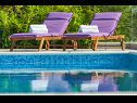 Holiday home IM H(8+2) Zatoglav - Riviera Sibenik  - Croatia - swimming pool (house and surroundings)