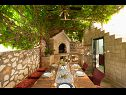 Holiday home IM H(8+2) Zatoglav - Riviera Sibenik  - Croatia - grill (house and surroundings)