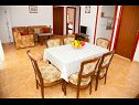 Apartments More A1(4+2) Cove Donja Krusica (Donje selo) - Island Solta  - Croatia - Apartment - A1(4+2): dining room