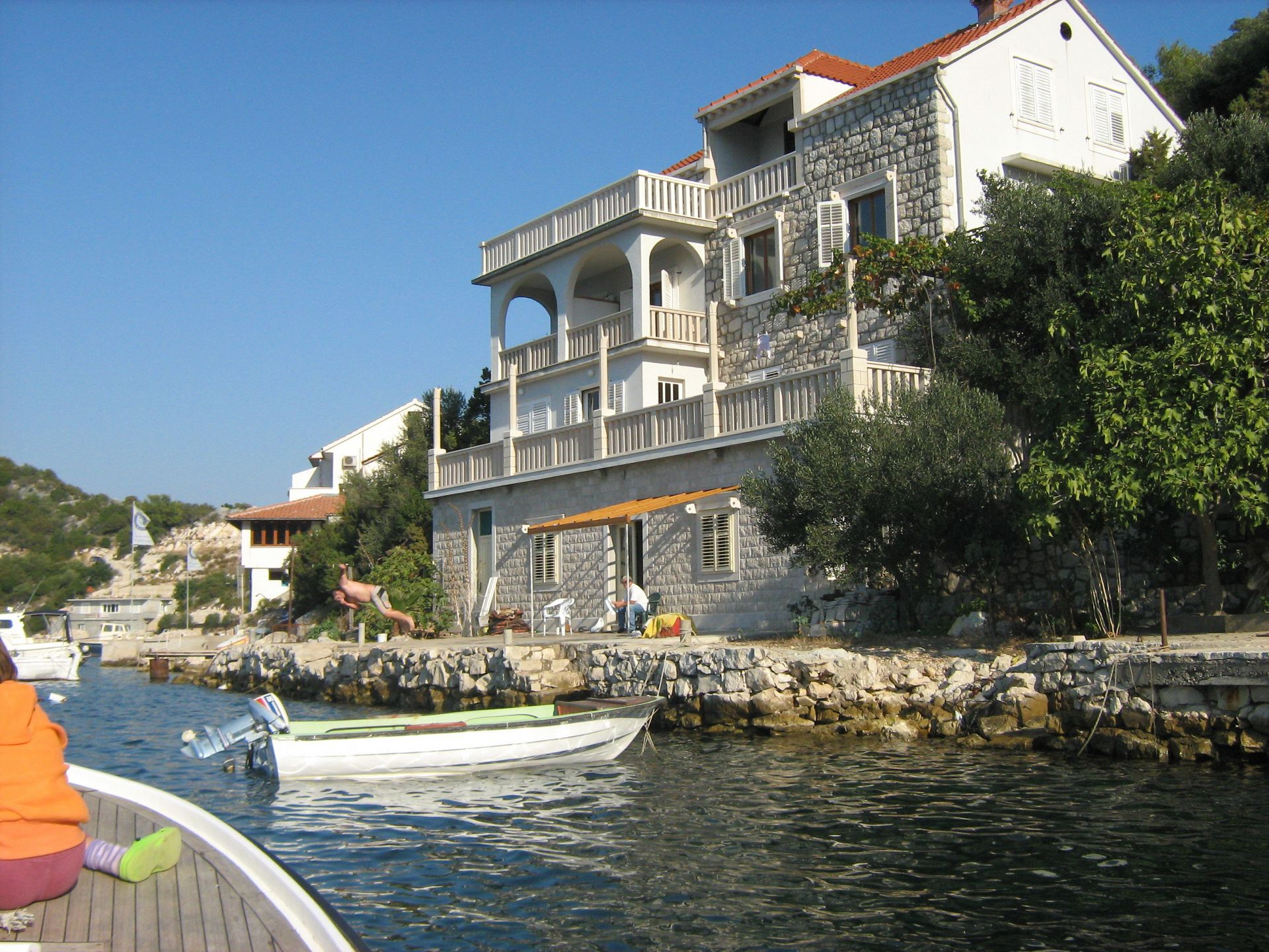 Apartman Apartment Mile  - untouched nature & serenity: A6 President Zaklopatica, Island Lastovo 52306, Zaklopatica, Lastovo, Dubrovacko-neretvanska