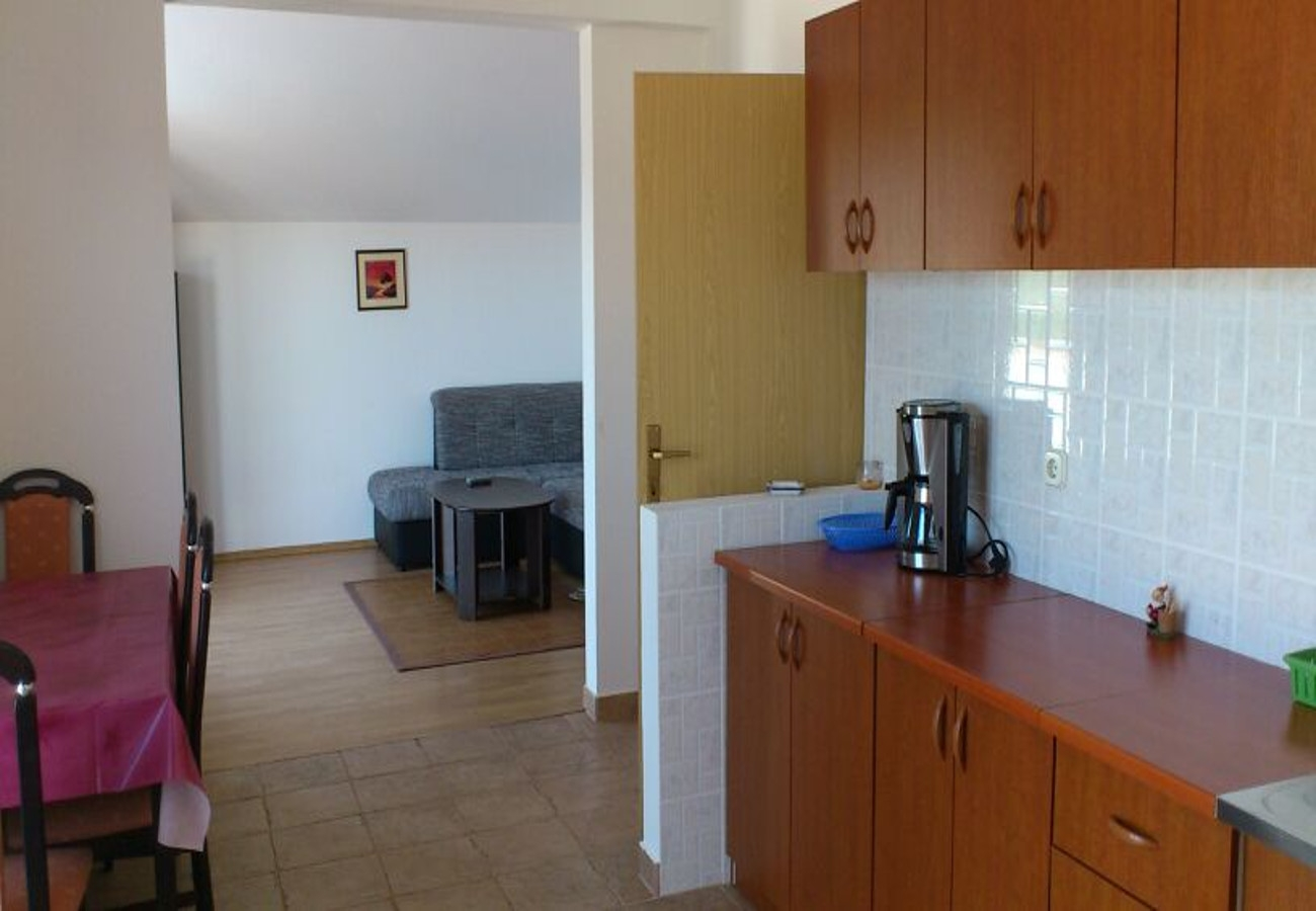 Apartamenty Apartment Tina -with terrace and sea view A1 Obrovac, Zadar riviera 52324, Kruševo, , Zadarska