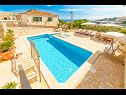 Holiday home Srdjan H(10) Sumartin - Island Brac  - Croatia - swimming pool