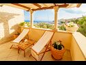Holiday home Srdjan H(10) Sumartin - Island Brac  - Croatia - terrace