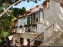Apartments and rooms Roza A1(5), A2(4+2), R1(2), R2(2) Baska Voda - Riviera Makarska  - house