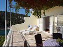 Apartments Mare A1(5+1), A2(6) Cove Ljubljeva (Vinisce) - Riviera Trogir  - Croatia - Apartment - A2(6): terrace