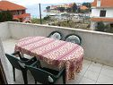 Apartments Kalo A1(5), A2(5) Ugljan - Island Ugljan  - Apartment - A1(5): terrace