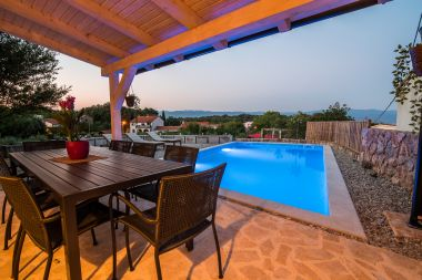Holiday home Peace H(4+2) Vrbnik - Island Krk  - Croatia