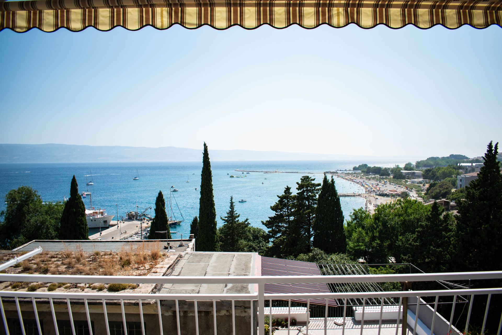 Apartments Ozren - amazing sea view: A1(7+1), A2(4+1) Omis - Riviera Omis